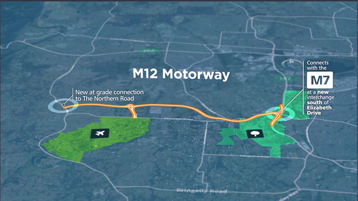 M12 Motorway EIS project video thumbnail