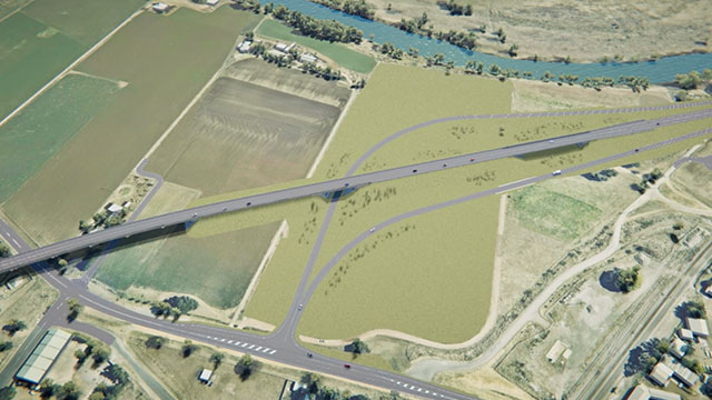 Putty Road interchange orbit
