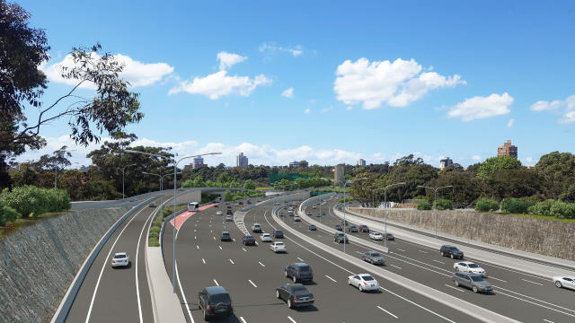 Coffs Harbour bypass project