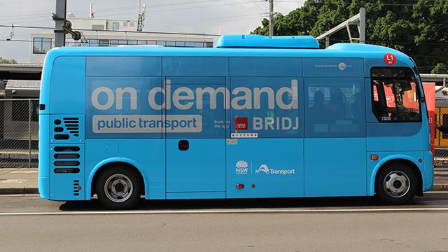 On Demand Public Transport bus