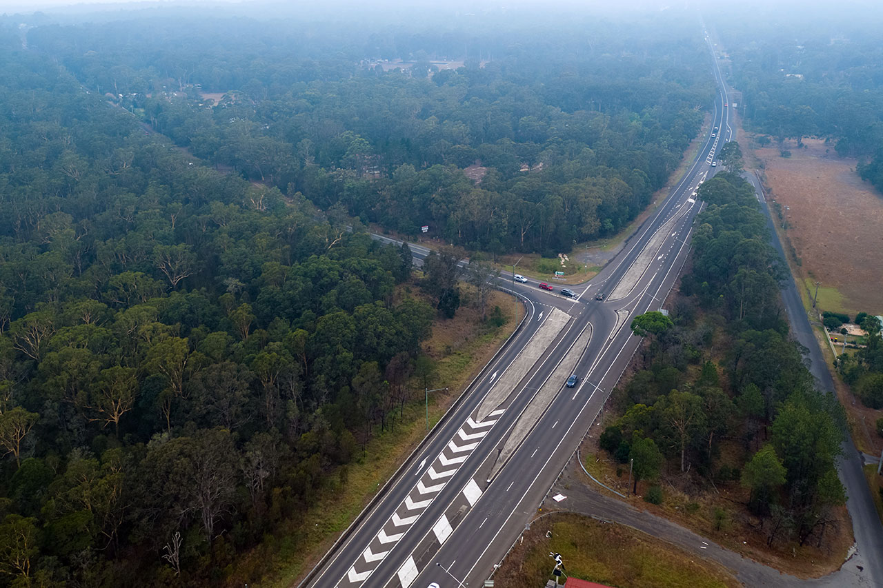 Jervis Bay Road intersection project image
