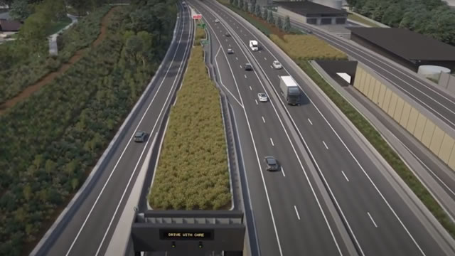 M8 Tunnels flyover