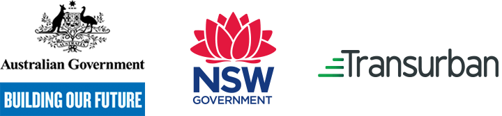 Australian Government, NSW Government, Transurban